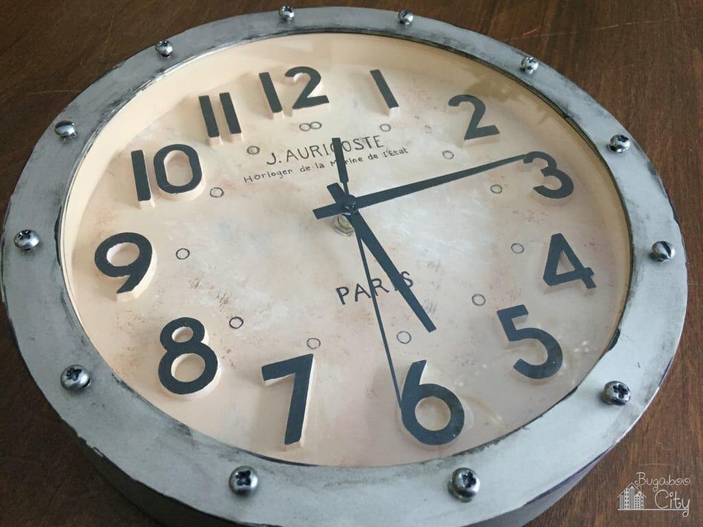 Diy Project Clock Makeover Bugaboocity