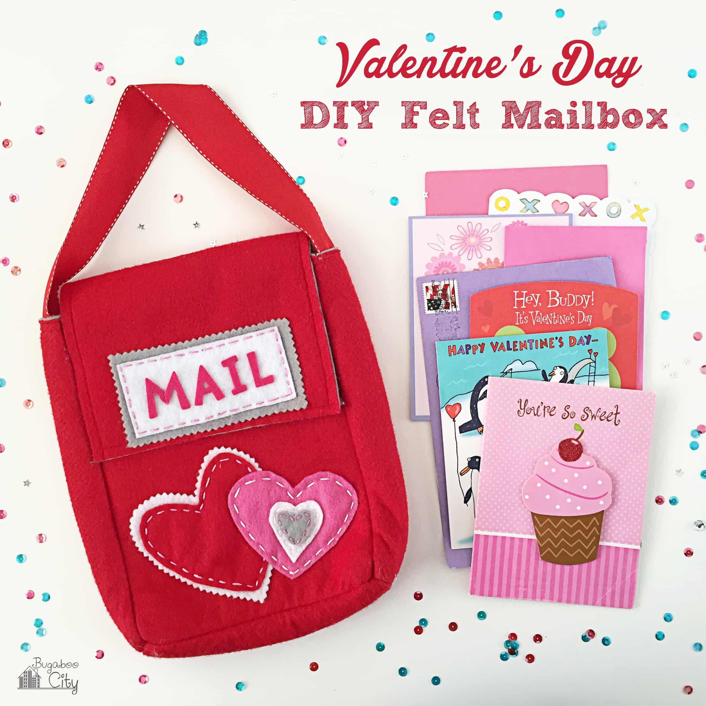 Felt Valentine's Day Mailbox