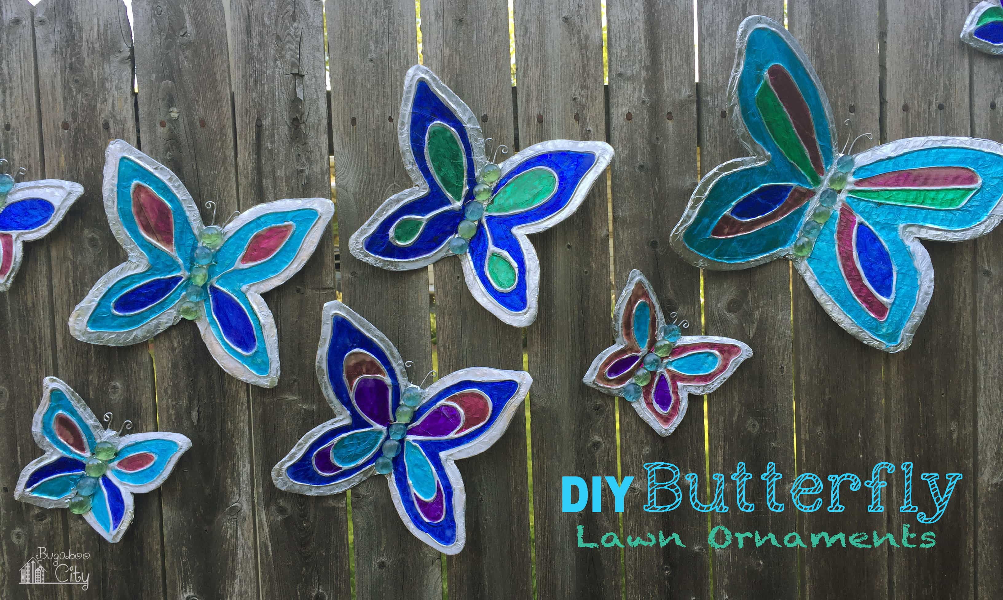 DIY Butterfly Garden Ornament | A Guide to Upcycled Homesteading