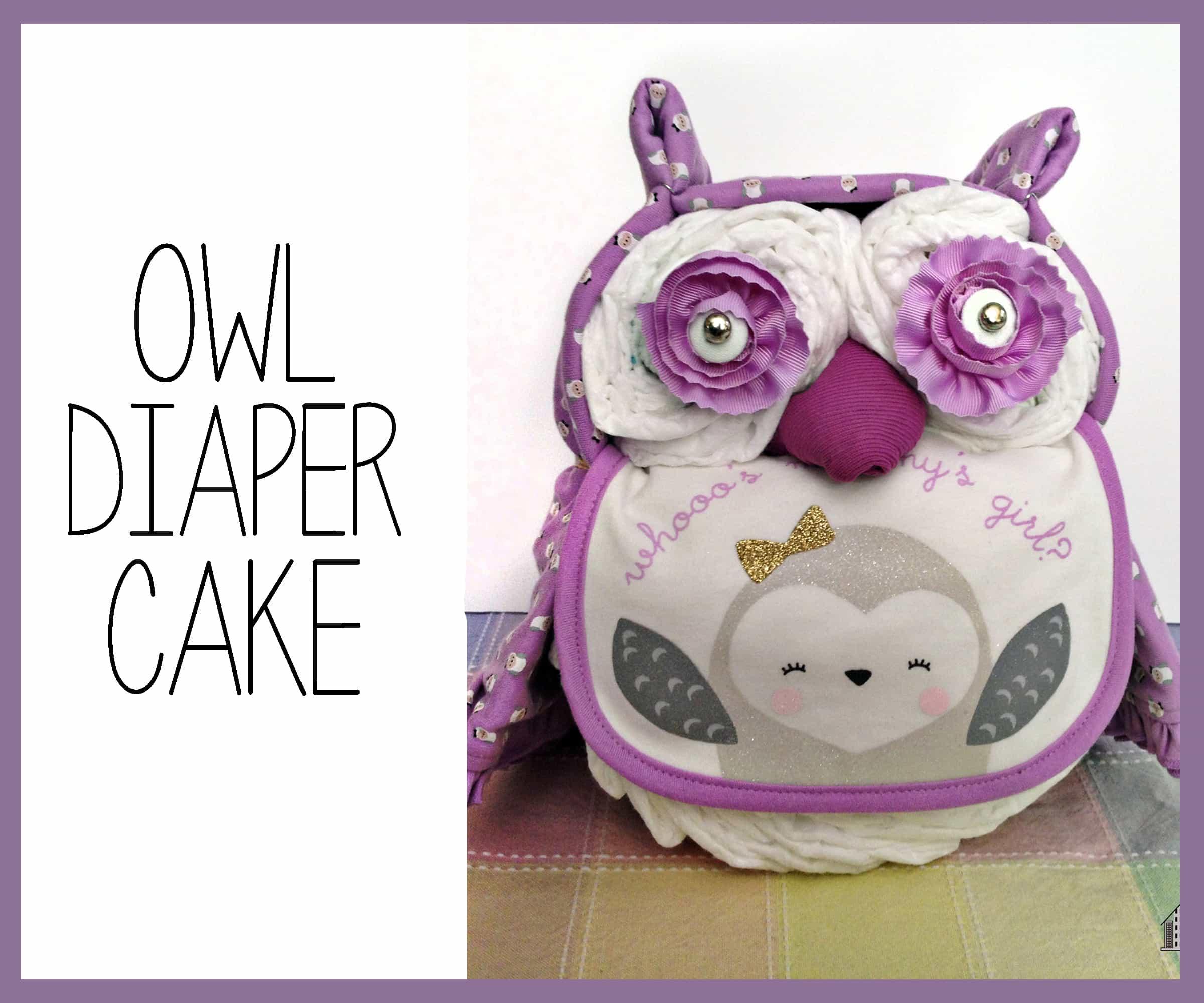 OWLdiapercake