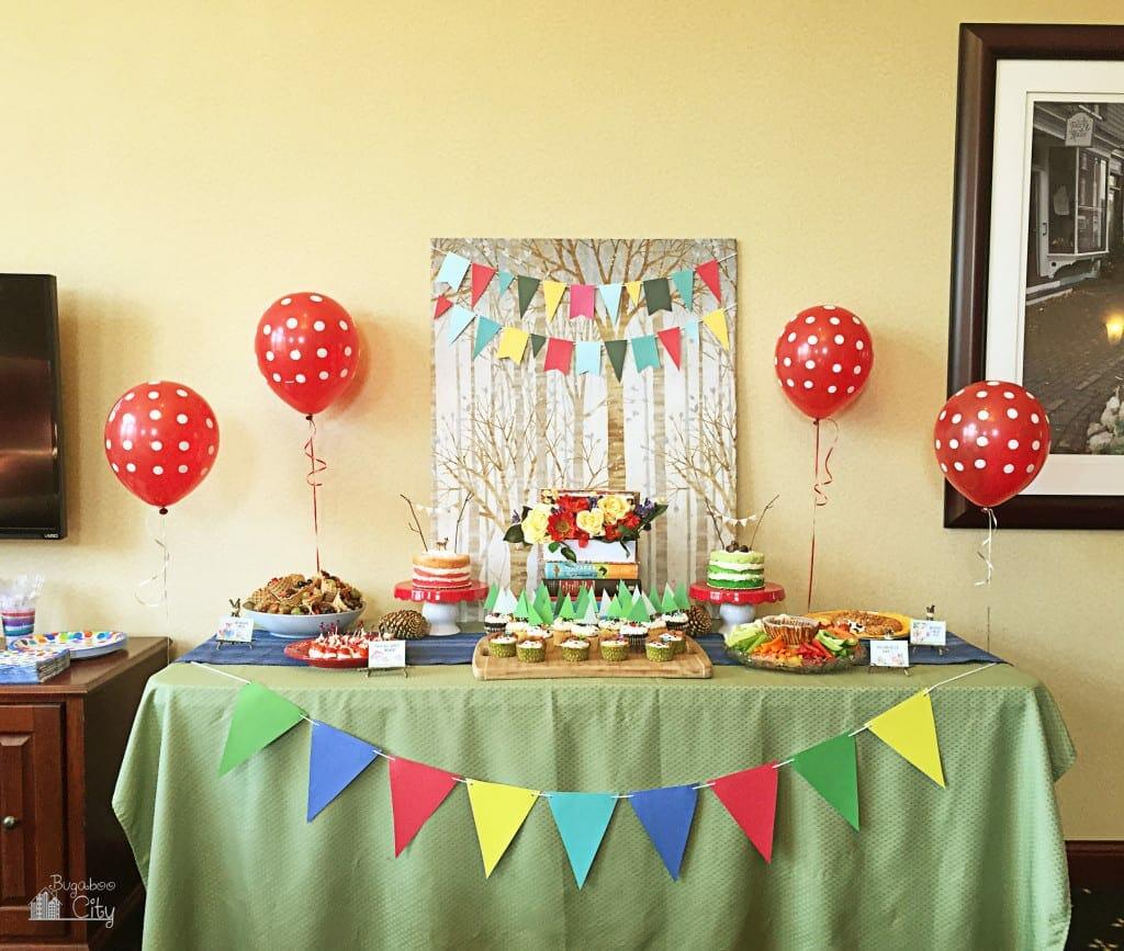 Woodland Animal Birthday Party 13