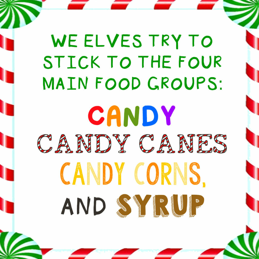 Buddy The Elf Syrup Label Free Printable Holiday Gift