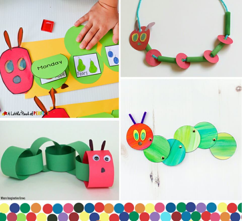 30 Hungry Caterpillar Ideas For Preschoolers Bugaboocity