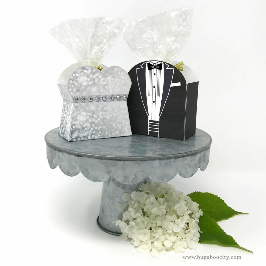 Wedding Gown Boxes: DIY Wedding Dress Treat Box